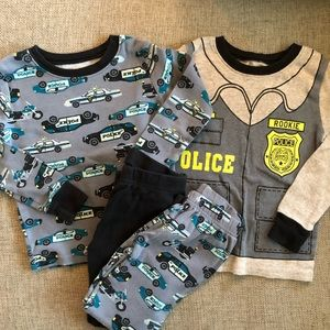 Carter's Boys Police Pajama Set